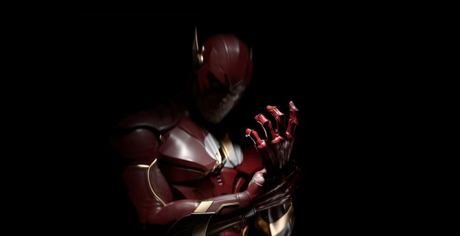 Injustice 2, video game, fastest man, The Flash wallpaper