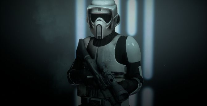 Desktop Wallpaper Star Wars Star Wars Battlefront Ii Scout Trooper Video Game Hd Image Picture Background 148a96