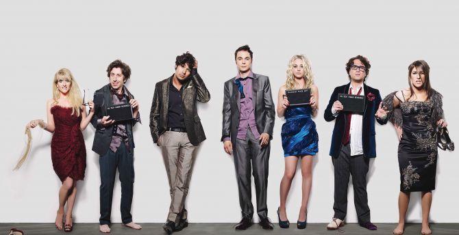 Desktop Wallpaper The Big Bang Theory Tv Show Cast 2018
