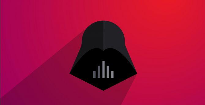 Desktop Wallpaper Darth Vader Minimal Art Hd Image Picture Background 176605