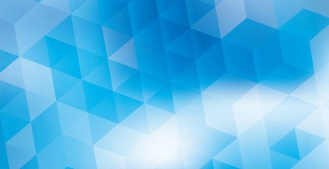 Download 2880x1800 Wallpaper Triangles Gradient Blue