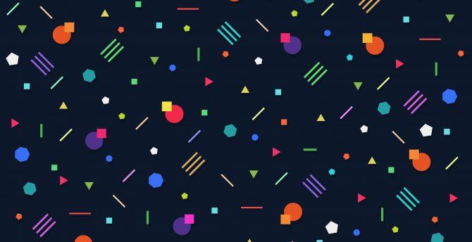 Desktop Wallpaper Geometry Abstract Minimal Hd Image