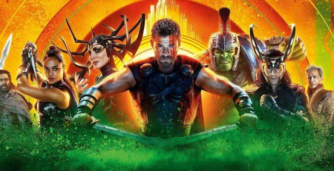 Desktop Wallpaper Thor Ragnarok 2017 Movie Hd Image Picture