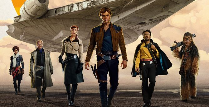 Solo: A Star Wars Story, cast, movie wallpaper
