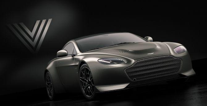 Aston Martin V12 Vantage V600, front wallpaper