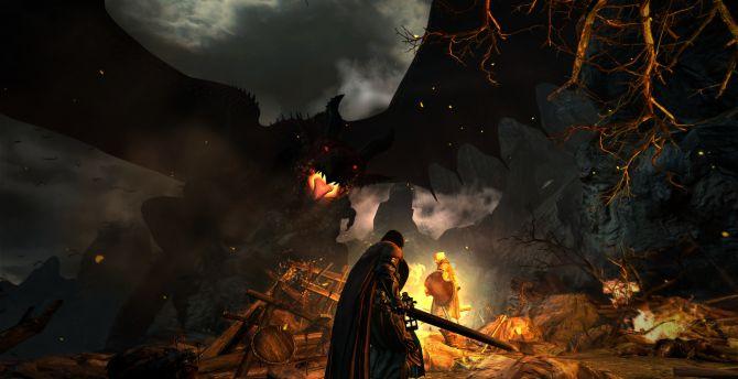 Dragons Dogma Dark Arisen Game Warrior Wallpaper