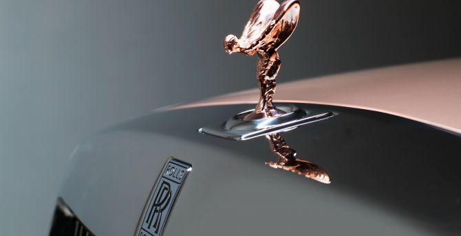 Desktop Wallpaper Rolls Royce Phantom Logo Brand Hd Image Picture Background 27aaa0