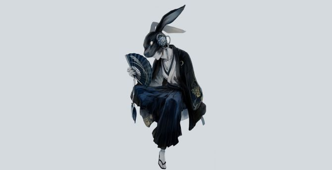 mask warriro anime boy
