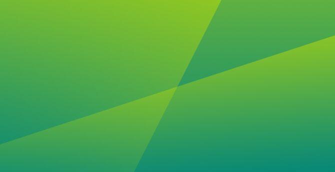 Desktop Wallpaper Green Abstract Crossed Lines Gradient