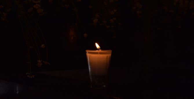 Candle glass 5k