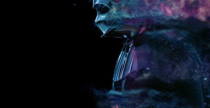 Desktop Wallpaper Fading Away Star Wars Darth Vader Hd Image Picture Background 3277fb