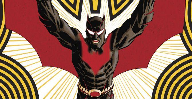 Desktop wallpaper batman beyond, future batman, cartoon, tv