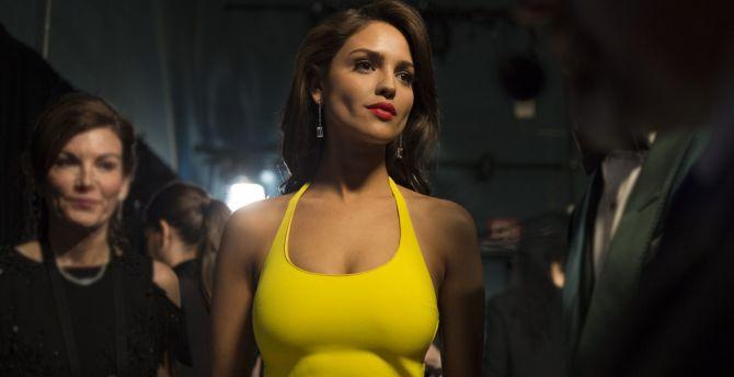 Eiza Gonzalez, brunette, Oscars 2018 wallpaper