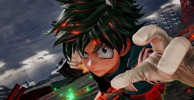 Desktop Wallpaper Izuku Jump Force Anime Video Game Hd Image Picture Background 3a1ba8