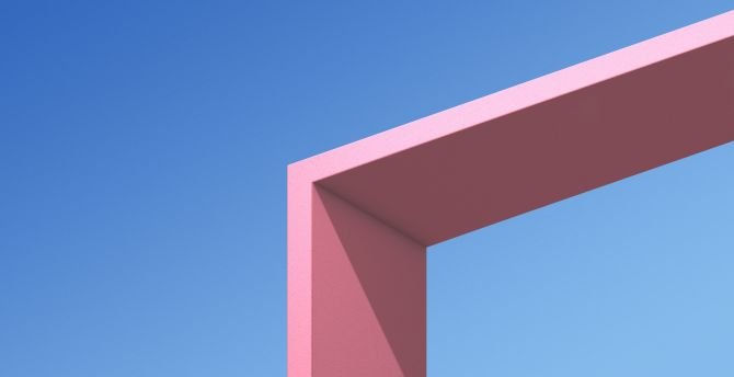 Minimal, architecture, HTC U11, stock wallpaper
