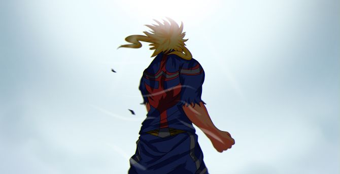 Desktop Wallpaper All Might My Hero Academia Hd Image Picture Background 443dd2