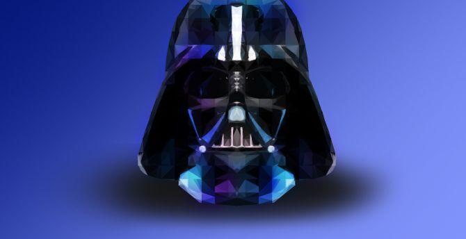 Desktop Wallpaper Darth Vader Star Wars Digital Artwork