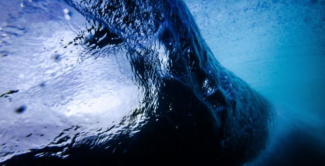 Tide, sea waves, bubble, close up, water wallpaper