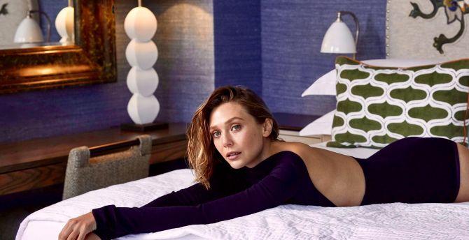 desktop wallpaper elizabeth olsen actress beautiful hd