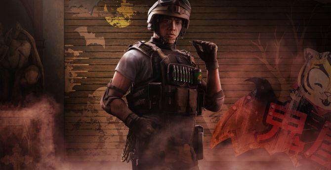Tom clancys rainbow six siege game 4k