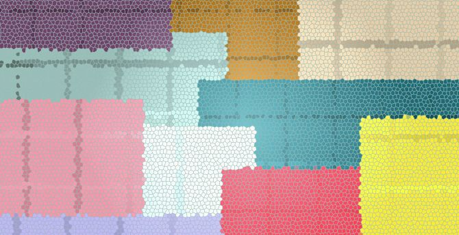 Shapes, colorful, abstract, texture wallpaper