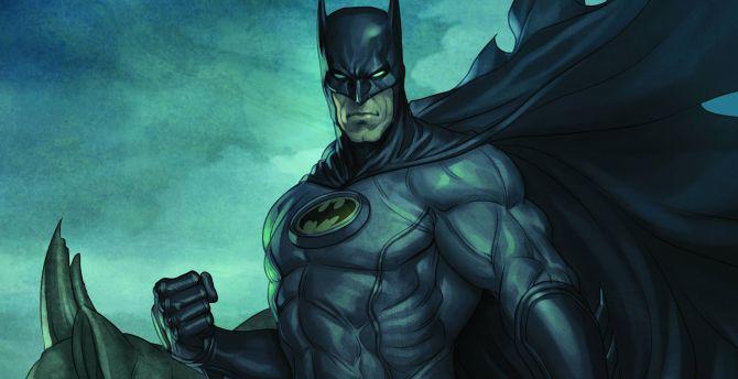 Batman, comics, dark, art wallpaper