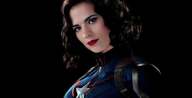 Peggy Carter, Hayley Atwell, Captain America, marvel comics, celebrity wallpaper