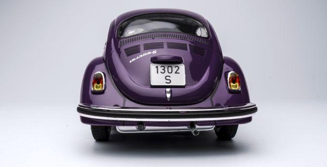 Beetle car toy 4k