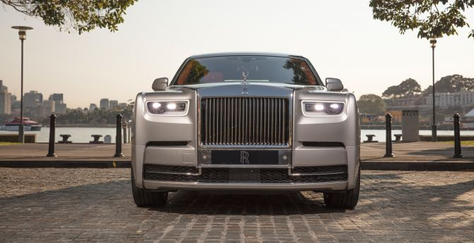 Hd Wallpaper From Samsung J2 Rolls Royce: Desktop Wallpaper 2018 Rolls-royce Phantom, Luxury Car