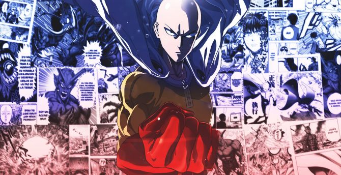One Punch Man Background Hd