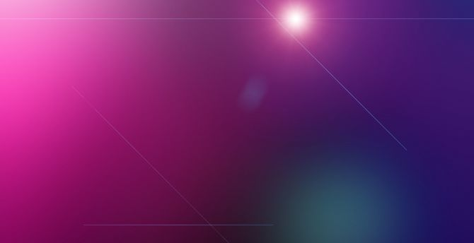 Gradient, pink flare, abstract wallpaper