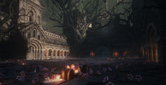 Desktop Wallpaper Dark Souls Iii Video Game Dark Castle