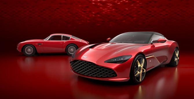 Desktop Wallpaper Aston Martin Dbs Gt Zagato 2019 4k Hd Image Picture Background 55c213