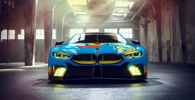 Bmw M8 GTE, front, concept cars wallpaper