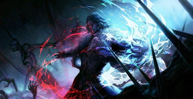 Vlad the Impaler, anime boy, Fate/Apocrypha wallpaper