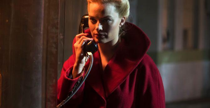 Margot Robbie as Annie, movie, Terminal wallpaper