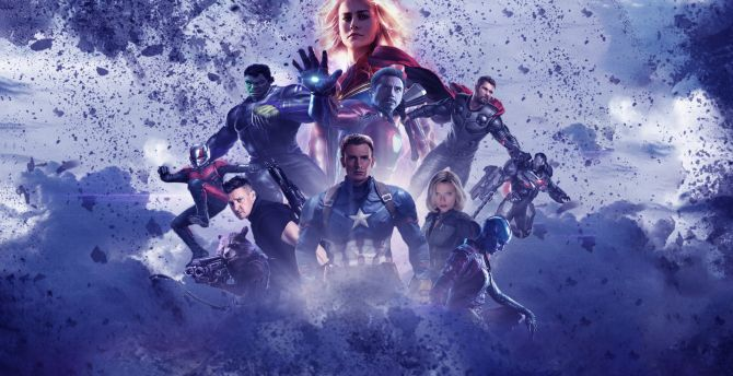 Desktop Wallpaper Avengers Endgame All Superheroes 2019 Art Hd