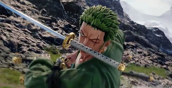 Desktop Wallpaper Video Game Jump Force Roronoa Zoro One Piece Hd Image Picture Background 61c5b3
