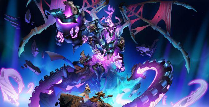 Paladins, Abyssal Lord Drogoz, video game wallpaper