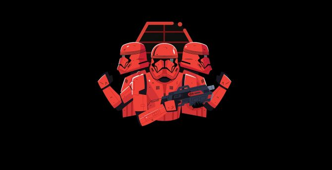 Desktop Wallpaper Star Wars Stormtrooper Minimal Art Hd Image Picture Background 6888a6