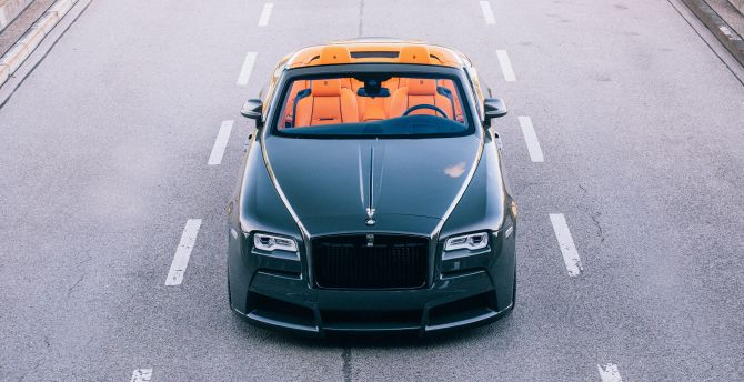2017 spofec Rolls-Royce Dawn overdose, front view wallpaper