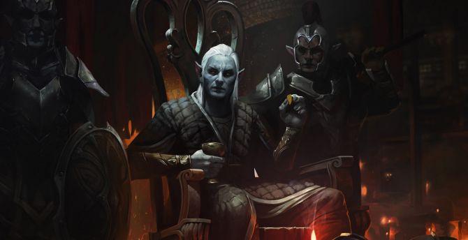 The Elder Scrolls Online Legends Wallpapers: Desktop Wallpaper Elf King, The Elder Scrolls: Legends, Hd