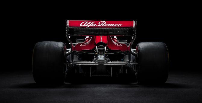 Wallpaper Sauber C37 Alfa Romeo F1 2018 Formula 1 F1: Desktop Wallpaper Alfa Romeo, Sauber C37 F1, Formula One