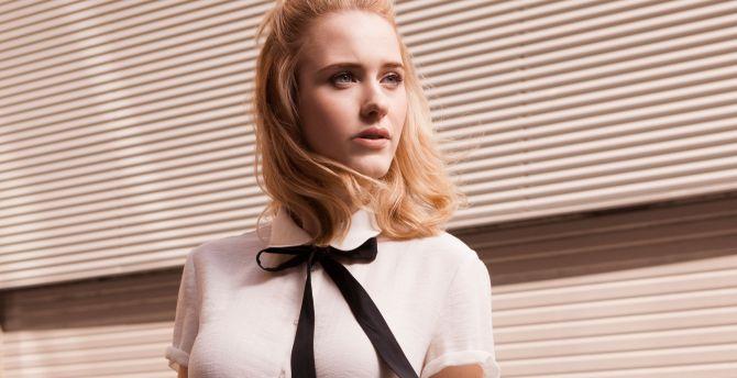 Rachel Brosnahan, actress, blonde wallpaper