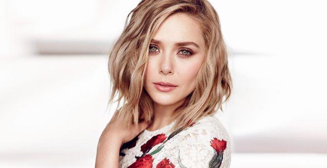 Stunning, Gorgeous look, Elizabeth Olsen wallpaper
