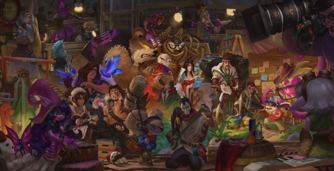 League of legends all characters