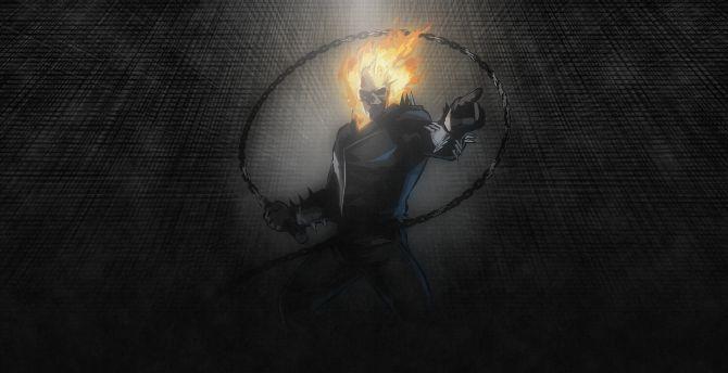 Ghost Rider, marvel, artwork wallpaper