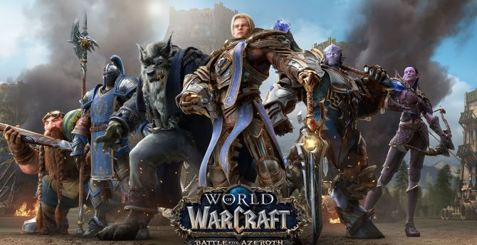 Desktop Wallpaper World Of Warcraft: Battle For Azeroth
