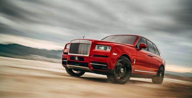 Rolls-Royce, Luxury car, motion blur wallpaper