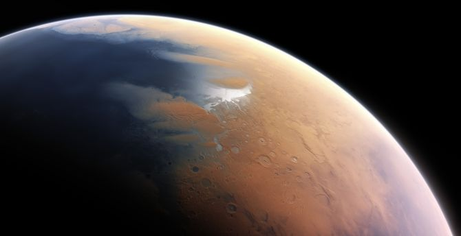 Mars, space, surface, planet wallpaper